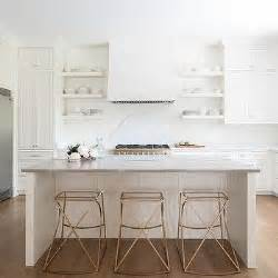 Gabby Johnson Counter Stool by Frosted Glass Island Lanterns Transitional Kitchen