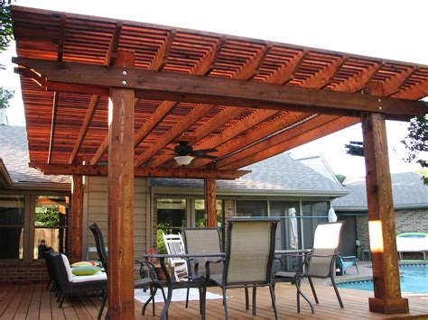 Shade Covers For Patio Pergola Amp Deck In Plano Tx On Guard Fencing Co Fence