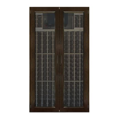Wine Cabinet With Doors Vinotemp 280 Bottle Chalkboard Wine Cabinet Vino 440cb The Home Depot