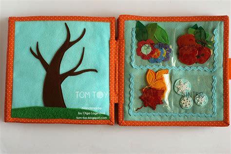 Handmade Busy Book - handmade cloth busy book for sergio season tree