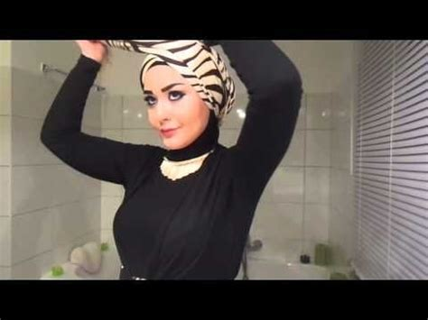 youtube tutorial hijab turban pesta turban hijab tutorial style 1 youtube hijab turbon