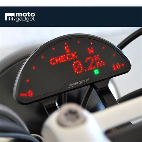 compteur motogadget motoscope pro     bmw