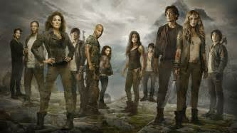 The 100 tv series cast hd wallpaper