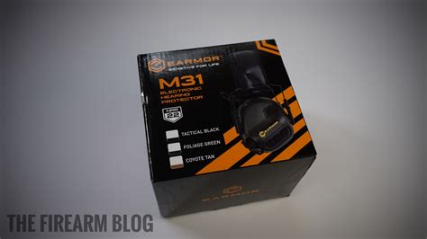 Earmor M31 Electronic Hearing Protector tfb review opsmen m31 earmor electronic hearing protection firearms