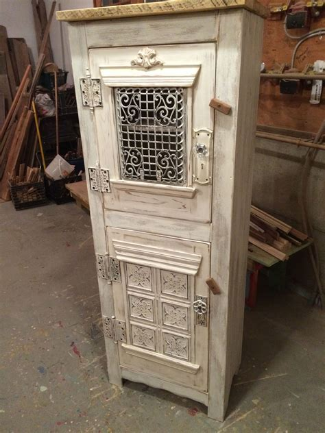 Hand Made Steampunk Clothing/Linen Cupboard, Antique
