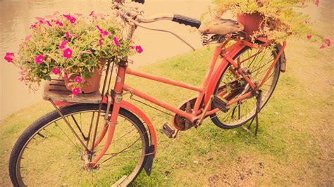 decorar jardines vintage decorar jardines con bicicletas vintage