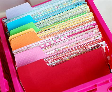 paper scrap organization betsy veldmen of papercrafts