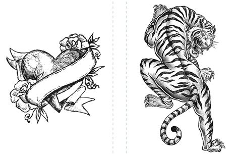 free tiger coloring page to print coloring pages