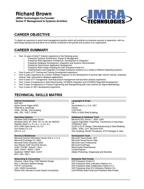 examples of resumes best resume 2017 on the web