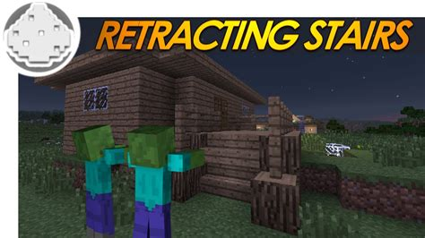 how to create a secure zombie proof home guns ammo minecraft redstone retracting stairs how to keep zombies