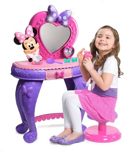 Minnie Mouse Bowtique Vanity Table by Disney Minnie S Bowdazzling Vanity Toys