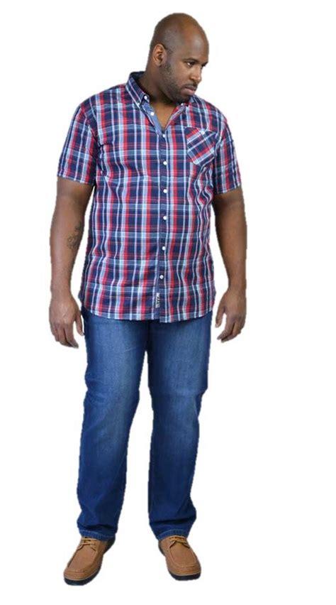 mens king size shirt set big clothing summer casual