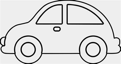 Auto Schablone by Car Coloring Template Inspirational Car Outline Coloring