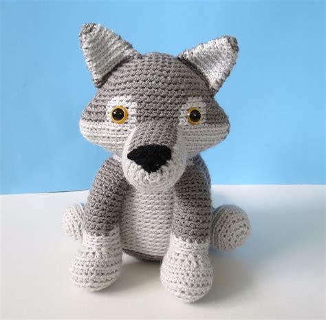 crochet pattern amigurumi wolf wolf crochet pattern download on lovecrochet crochet