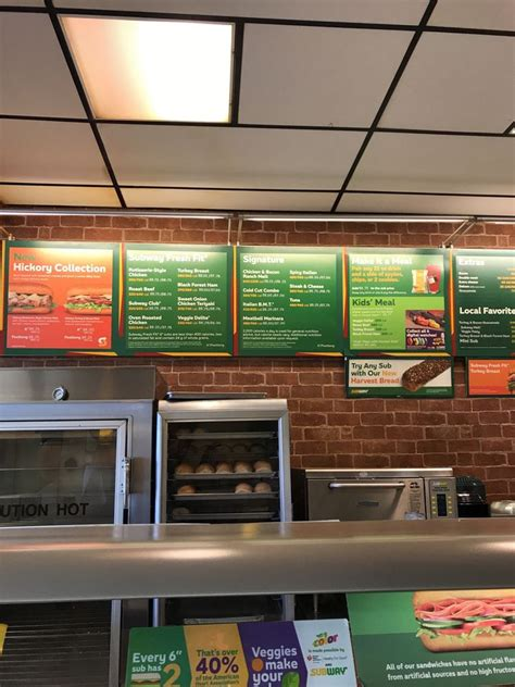 subway fastfood 17171 bothell way ne lake forest park