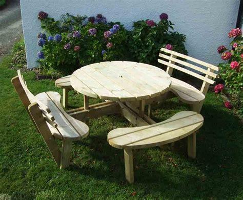 circular picnic benches circular picnic table with 2 back rests caledonia play