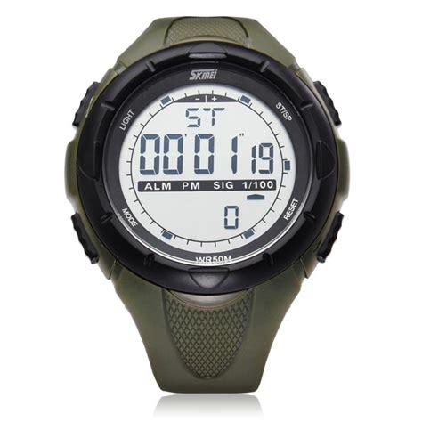 Skmei 1025 Digital Original Sport Murah 1 skmei 1025 calendar sport black rubber digital wrist quartz alex nld