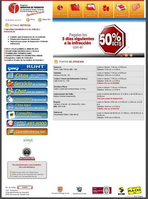 impuestos en secretaria de transito de cali impuestos automotores cali 2013 autos post