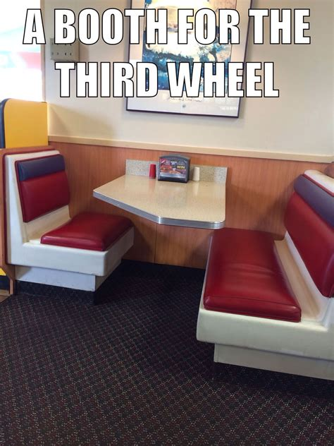 3rd Wheel Meme - the third wheel booth meme by p2bamerican memedroid