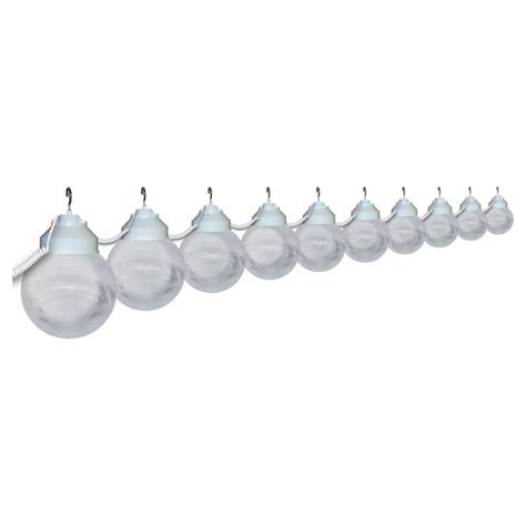 Prismatic Clear Globe String Lights 10 Globe Globe Light String