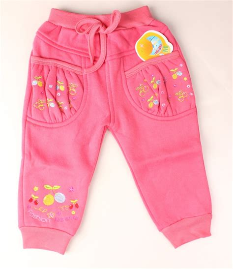 trousers children thick inner clothing