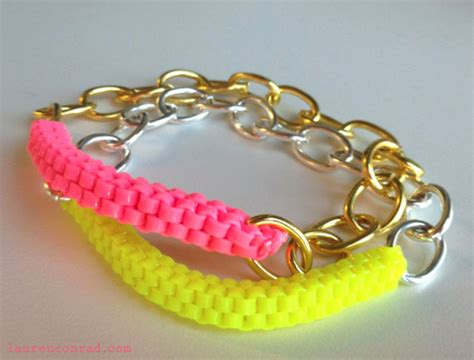 wonderful diy colorful lanyard box stitch bracelet