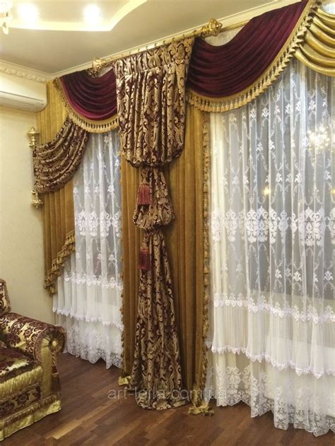 Swag Valances For Windows Designs 1000 Images About Luxury Curtain Drapes On Pinterest