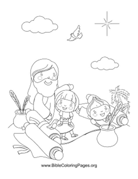coloring pages jesus reading scroll writing scrolls coloring page