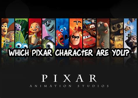 quiz film pixar which pixar character are you