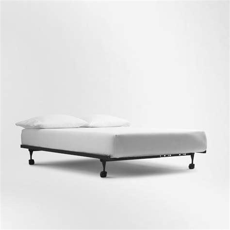 simple metal bed frame pinterest