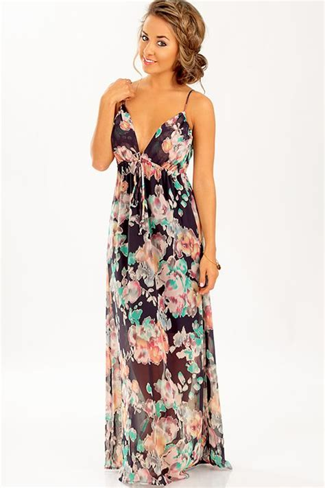 hair styles with maxi type dresses rose to fame dress navy multi fashion pinterest