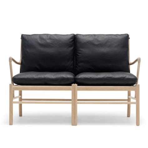 colonial living sofa ow149 2 colonial sofa ole wanscher carl hansen suite n