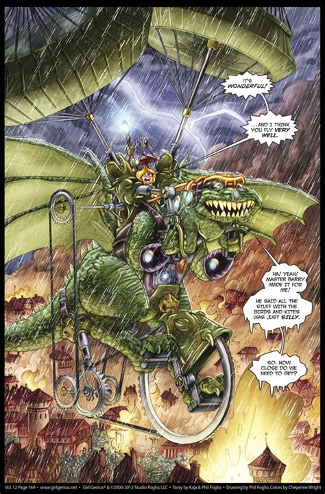 Review Genius By Phil And Kaja Foglio by The 20 Best Webcomics Of 2012 Books Lists Page 1