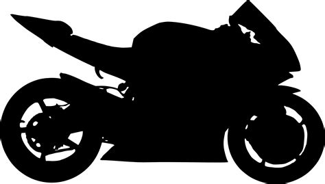 Motorrad Silhouette by 6 Motorcycle Silhouettes Png Transparent Onlygfx
