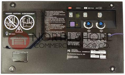 Liftmaster Garage Door Opener Circuit Board liftmaster chamberlain 41a5021 1h 315 garage door opener