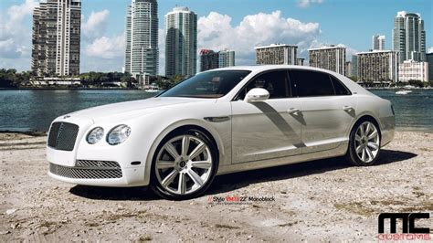 2017 bentley flying spur on rims bentley with rims mc customs vellano wheels bentley