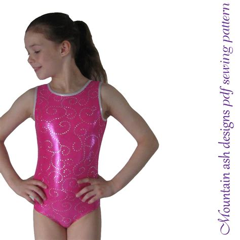 sewing pattern leotard leotards 1 pdf sewing pattern gymnastics gym ballet dance