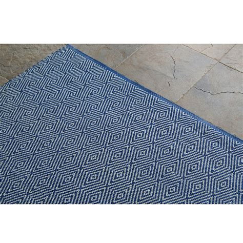 Royal Blue Outdoor Rug Shop Diamonte Royal Blue Outdoor Rug 5ft X 8ft Nuloom Rugs Outdoors Dfohome Dfohome