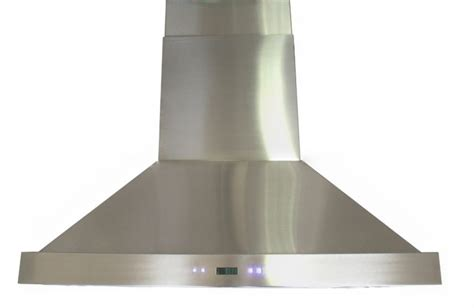 stainless steel kitchen exhaust hoods spagna vetro 36 inch sp island mounted stainless steel