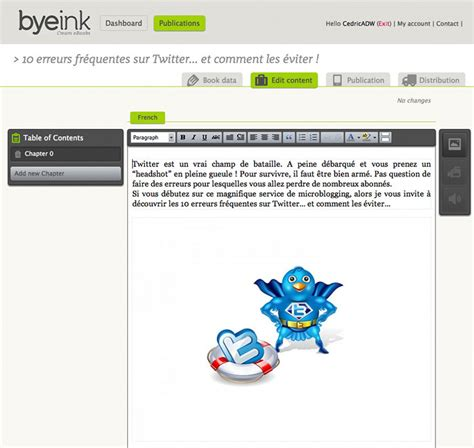 epub format websites byeink pour cr 233 er vendre et g 233 rer ses ebooks au format
