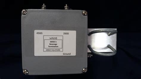 antenna termination resistor beverage antenna termination resistor box