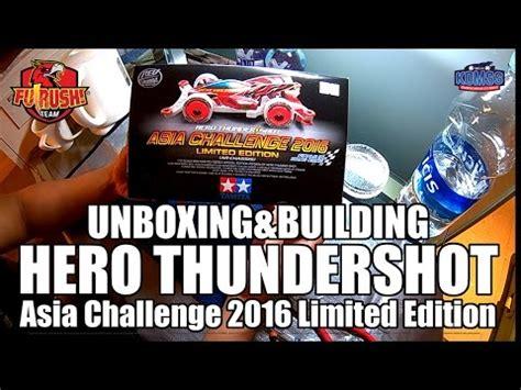 Tamiya Thunder Asia Challenge 2016 tamiya mini 4wd unboxing asia challenge 2016 thundershot