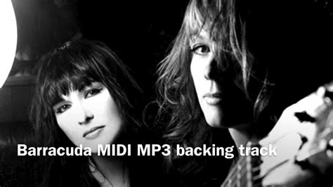 tattooed heart backing track barracuda in the style of heart midi mp3 backing track