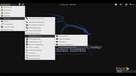 kali linux set toolkit tutorial kali linux social engineering toolkit tutorial credential