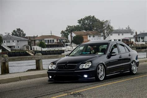 bagged mercedes e class my bagged w203 build from nyc mbworld org forums