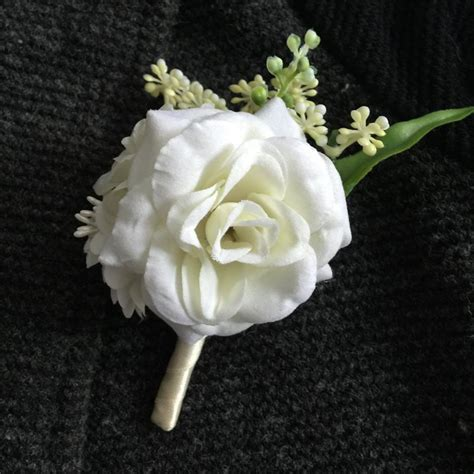 Top 7 Flower Accessories by 2color Best Wedding Boutonniere Groom Godfather Pin