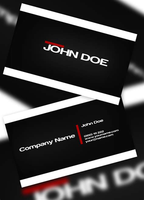 Next Day Flyers Business Card Template by 100 Free Business Card Templates To Free Psds
