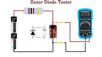 how to test diode polarity zener diode tester cheap and reliable up to 24v