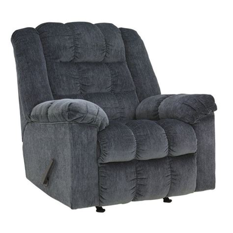 Blue Recliners Furniture Signature Design By Furniture Ludden Rocker