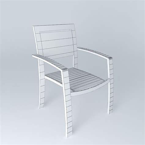 armchair hawaii white armchair hawaii 3d model max obj 3ds fbx stl dae cgtrader com